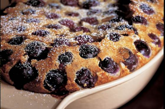 Cherry Clafoutis Dessert Recipe