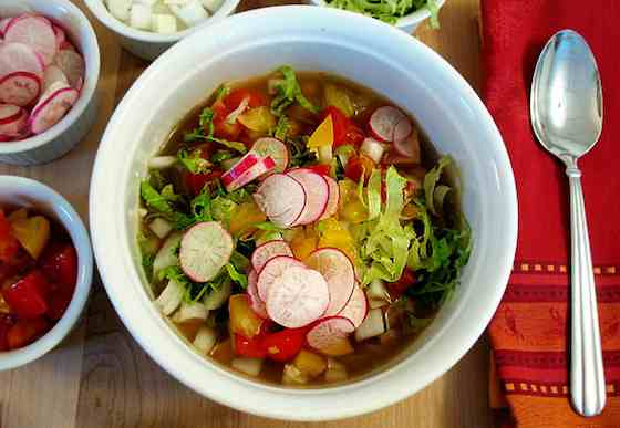 Chicken Posole: A Fun Weeknight Dinner Soup Recipe
