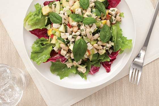 Chicken and White Bean Salad Recipe