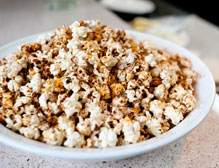 Oscars Party Recipes - Chili Orange Kettle Corn