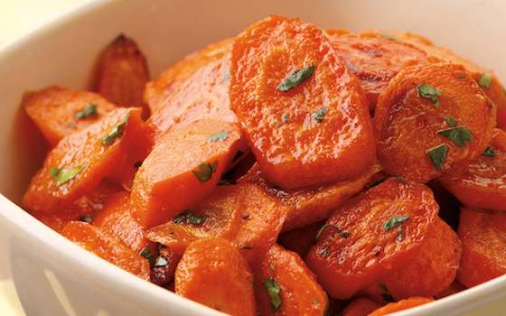 Chili-Roasted Carrots Recipe
