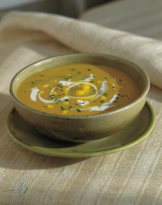 Chilled Curried Corn Soup Recipe