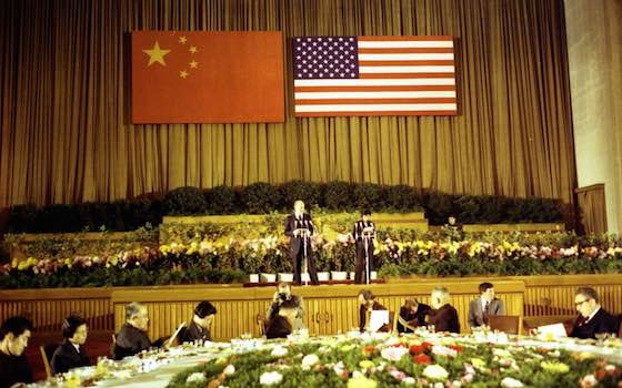 China and The United States: The Dance of Superpowers