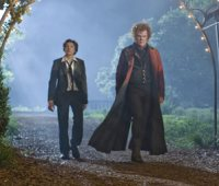John C. Reilly & Patrick Fugit in the movie Cirque Du Freak: The Vampire's Assistant