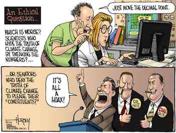 Climate Change An Ethical Question (c) David Horsey