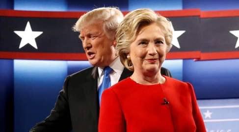 Clinton vs Trump Debate by the Numbers