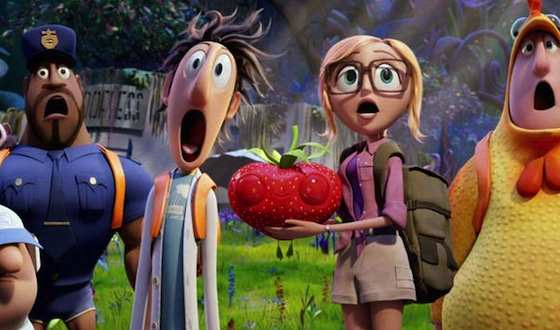 'Cloudy With a Chance of Meatballs 2' Movie Review - Anna Faris and Bill Hader  | Movie Reviews Site