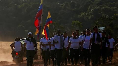 Child Soldiers From Colombia's Rebel Ranks To Be Freed