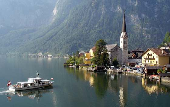 Hallstatt Austria: Communing with Nature