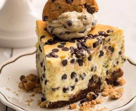 Cookies-And-Cream Cheese Cake Recipe