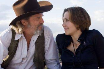 Jeff Bridges & Maggie Gyllenhaal  in the movie Crazy Heart