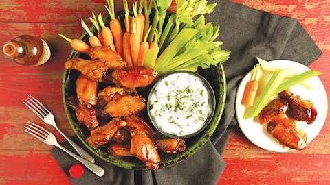 Crispy Baked Chicken Wings for Game Day Recipe