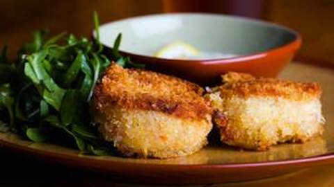 Crispy Crab Cakes with a Citrus Finish