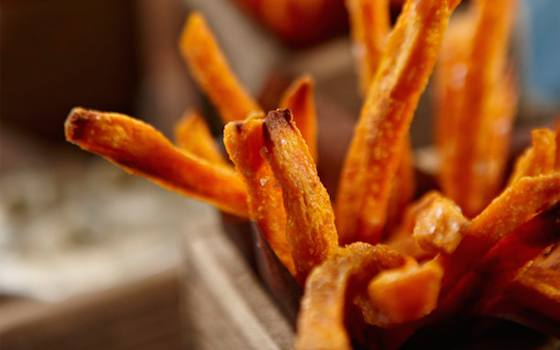 Crunchy Sweet Potato Fries  Recipe