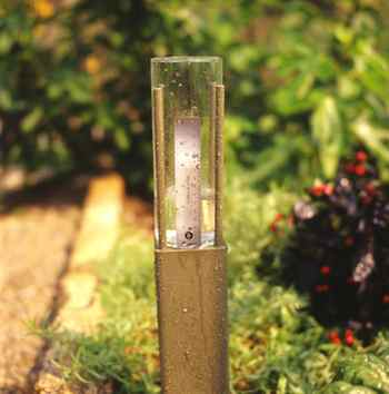 Gardening - Don't Let Rainwater Go Down the Drain. Using a rain gauge, like this homemade one, can help you use water more efficiently in the garden