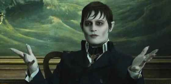 Johnny Depp and Michelle Pfeifferin Dark Shadows