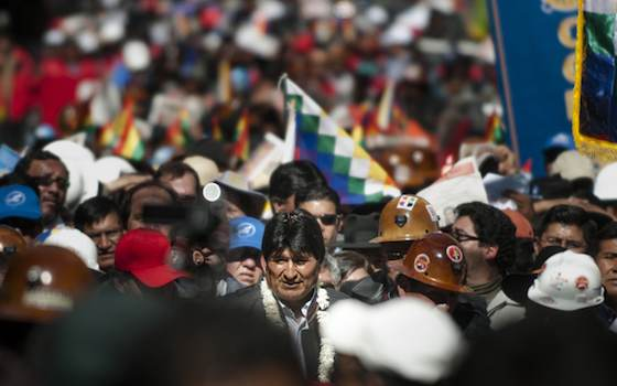 The Decline of United States Influence and the Rise of Evo Morales