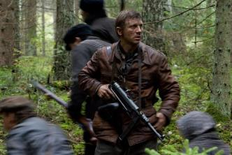 Daniel Craig in a scene from the movie Defiance