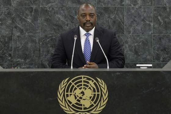 Democratic Republic of the Congo President Joseph Kabila Kabange