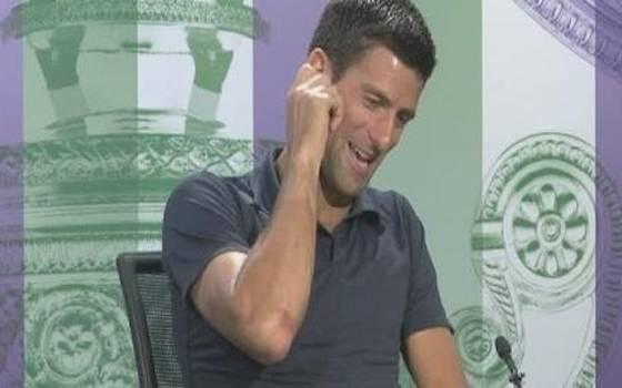 Djokovic's Bathroom Pep Talk During Wimbledon Final