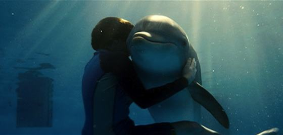 Harry Connick Jr and Ashley Judd in Dolphin Tale