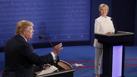 Presidential Debate: Taxes, Trade Deals & Foreign Military Aid