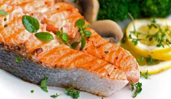 Double 'Cooked' Salmon with a Twist of Orange