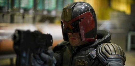 Karl Urban and Lena Headey  in Dredd 3D