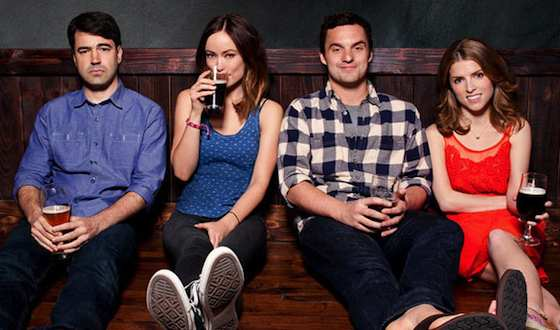 'Drinking Buddies' Movie Review - Anna Kendrick and Jake M. Johnson  | Movie Reviews Site