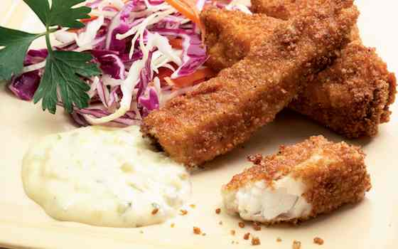 EatingWell Fish Sticks: The Secret to Low-fat Frying Recipe