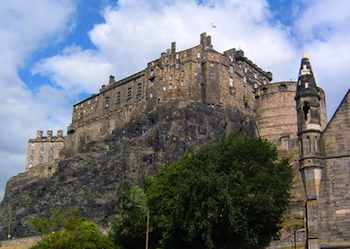 Edinburgh Castle has been a focal point for the city since the 11th century.