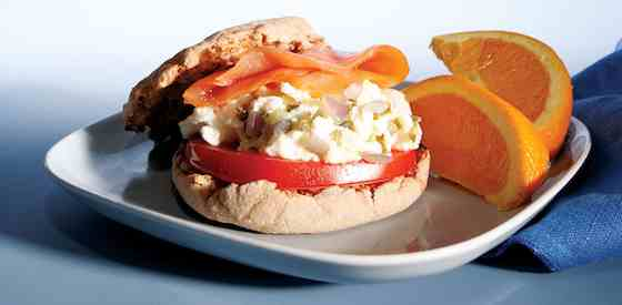 Egg and Salmon Sandwich Recipe