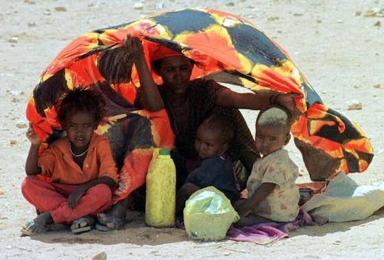 Ethiopian food shortage