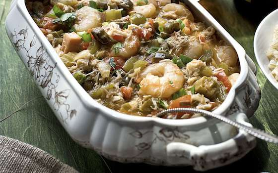 Eula Mae's Cajun Kitchen Seafood Gumbo Recipe