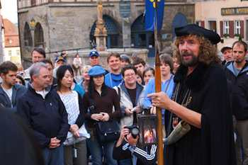 Walking Tours Bring Europe's Cities to Life - Rothenburg's Night Watchman walking tours offer the most compelling hour of medieval wonder anywhere in Germany