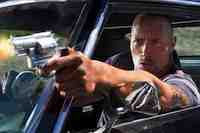 Dwayne Johnson & Billy Bob Thornton in the movie Faster