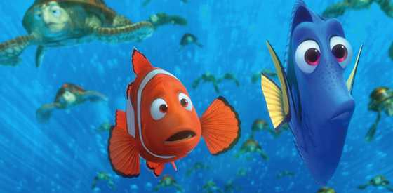 Albert Brooks and Ellen Degeneres  in Finding Nemo 3D