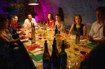 Taking a wine-tasting class -- like this one in Paris -- helps make French wine less intimidating