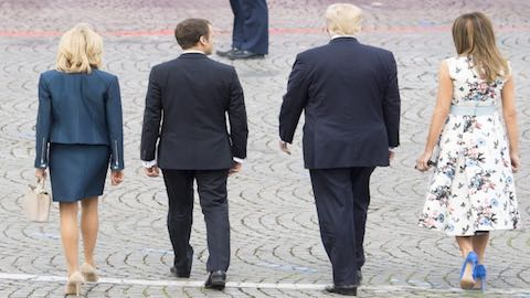 Emmanuel Macron Was Supposed to Be the Anti-Trump