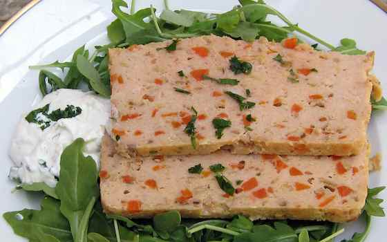 French Take on Gefilte Fish: Whitefish Terrine with Beet-Horseradish Relish Recipe
