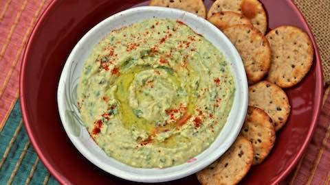 Fresh Seasonal Hummus Recipes Recipe