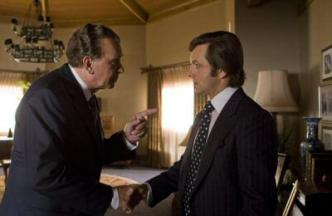 Frank Langella as Richard Nixon & Michael Sheen as David Frost  in Frost / Nixon.