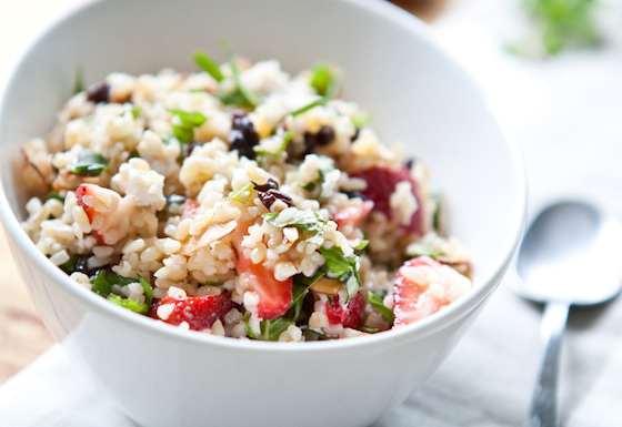 Fruit and Nut Tabouli Salad Recipe