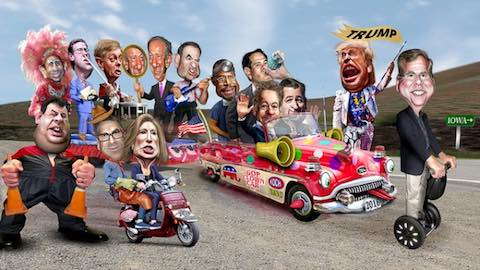 Away with the Republican Clowns