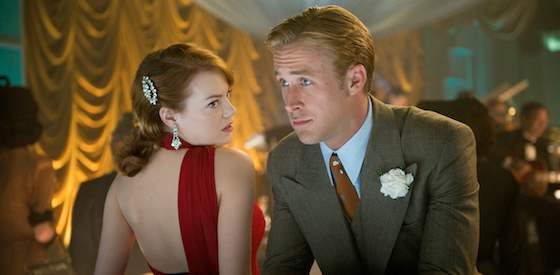 Sean Penn and Ryan Gosling  in Gangster Squad