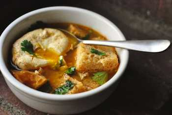 Fight Colds with Garlic Soup: Sopa de Ajo, A Christmas Treat With the Taste of Days Gone By