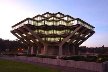 Geisel Library, University of California at San Diego; San Diego, California