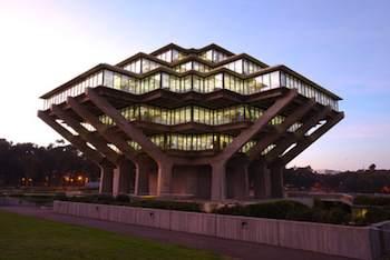 Geisel Library, University of California at San Diego; San Diego, California