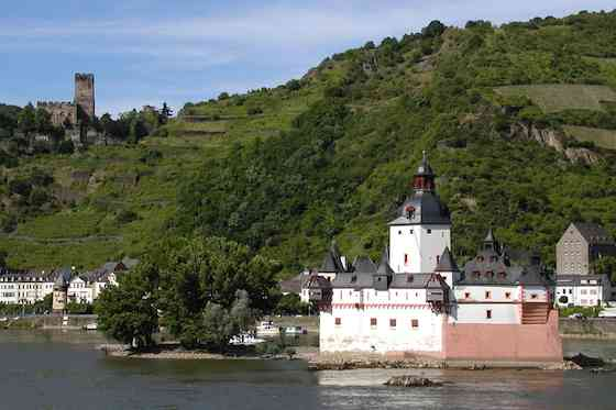 Germany's Rhine River: Raging with History