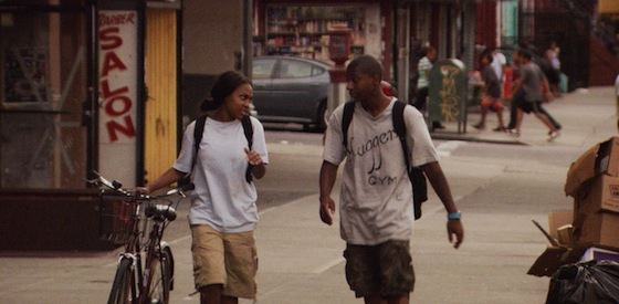 Ty Hickson and Tashiana Washington  in 'Gimme the Loot'